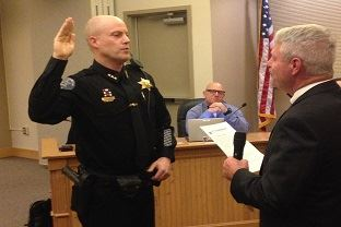 Chief Rogers Swearing-In