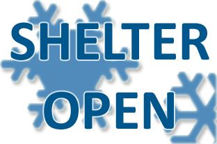 Cold Weather Shelter is Open