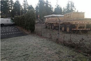 Trees to be removed at Army National Guard fence