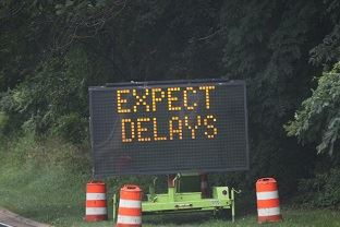 expect delays signs