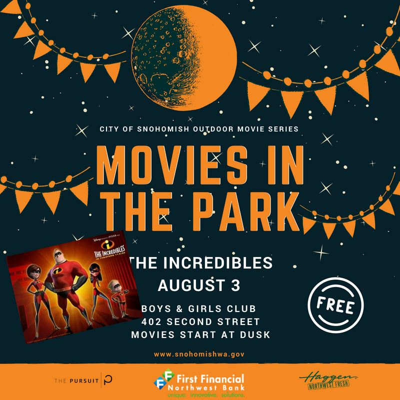 Movies in the Park The Incredibles