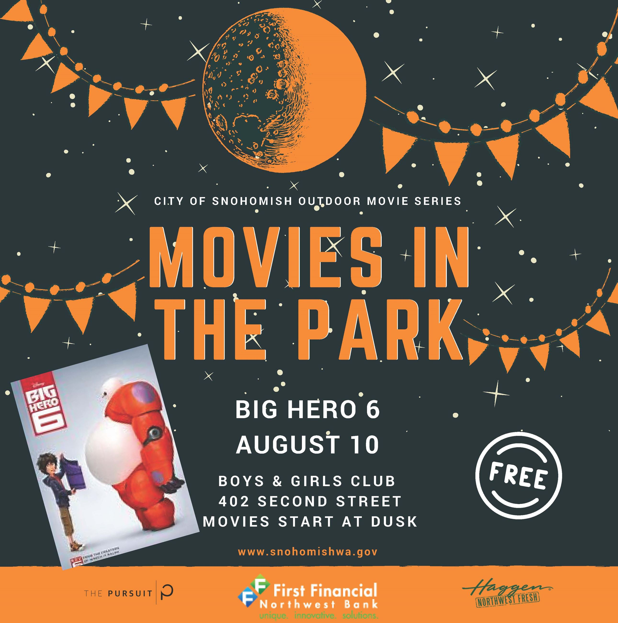 Movies in the Park Big Hero 6