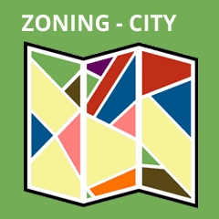 Zoning map City