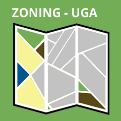 Zoning map UGA