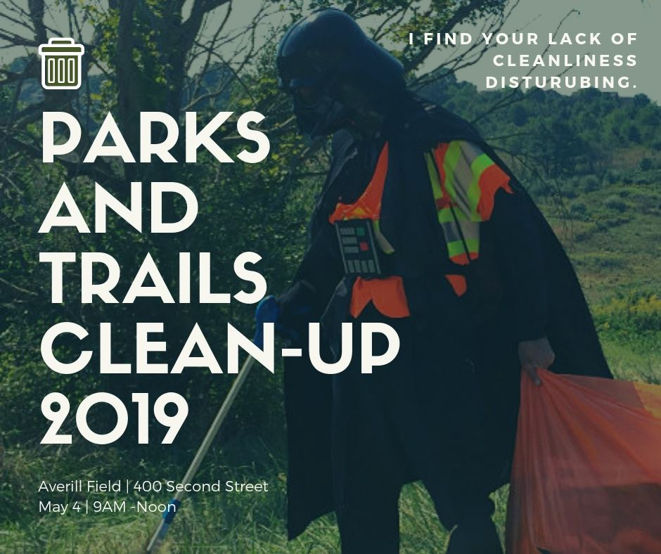 May the 4th Parks and Trails Cleanup