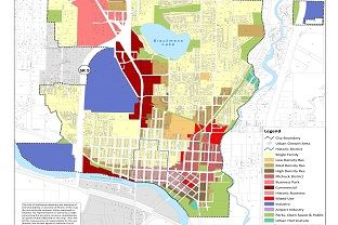 City Land Use Map
