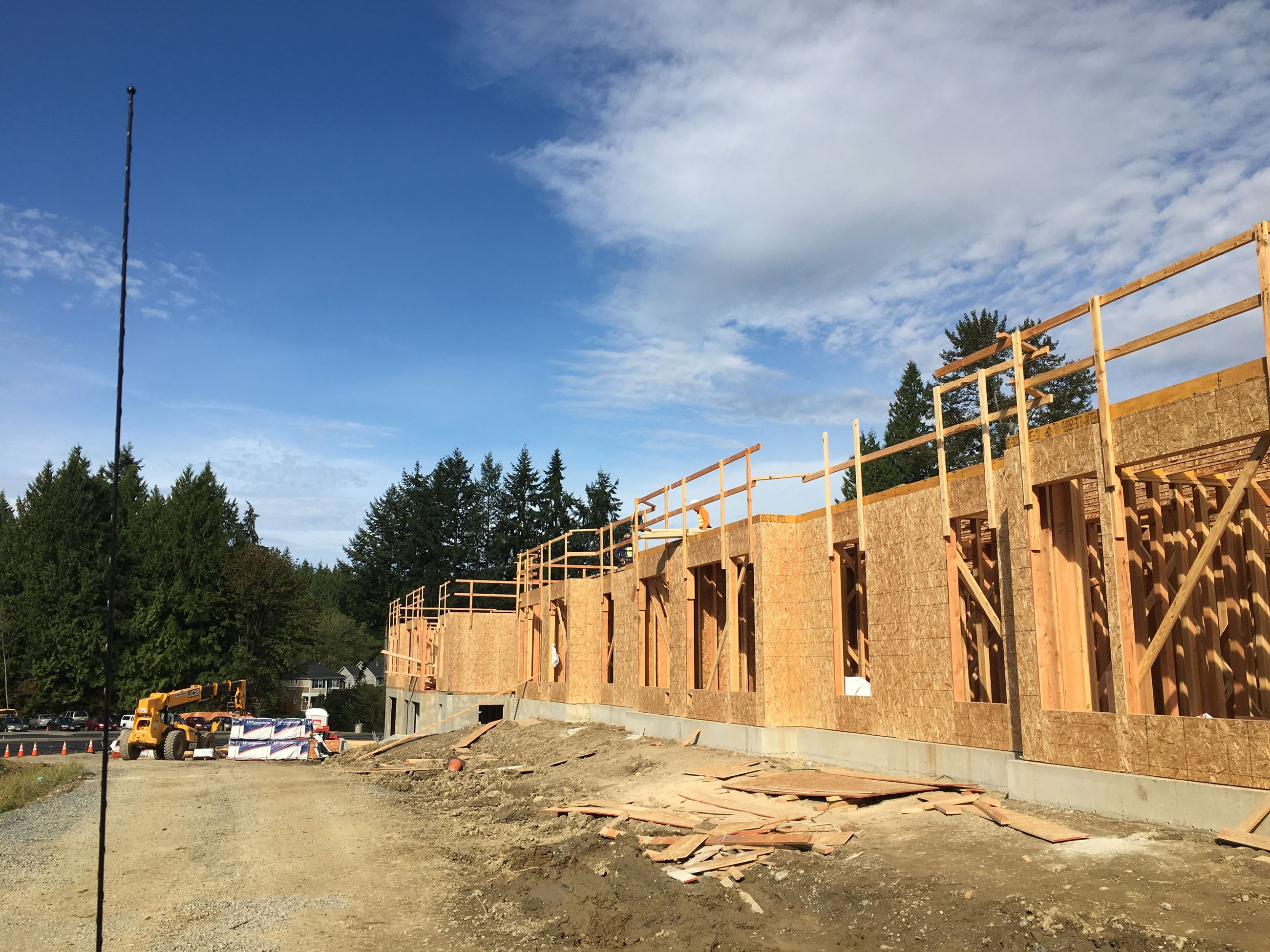 Senior Housing construction progress 1