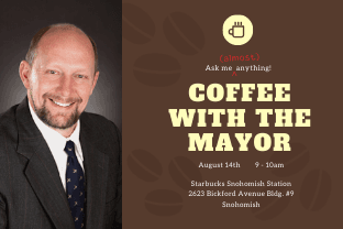 August coffee with the mayor
