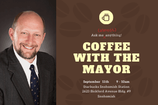 Sept coffee with the mayor